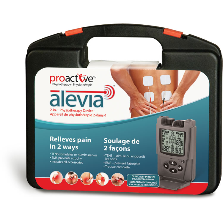 TENS 2-in-1 Physiotherapy Device Alevia™
