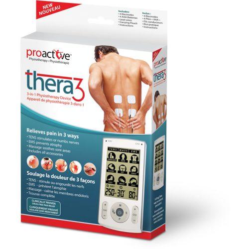 TENS, Appareil de physiothérapie 3-dans-1 Thera3™