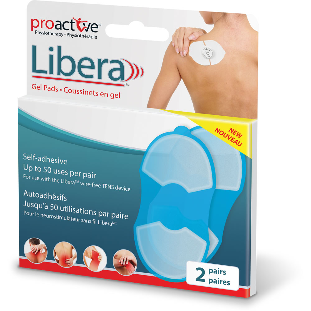 ProActive™ Self Adhesive Gel Pads for the Libera™ TENS