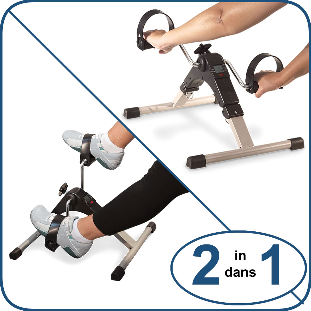 2 in 1, ProActive™ Deluxe Pedal Exerciser With Digital Display