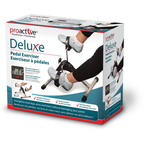 ProActive™ Deluxe Pedal Exerciser With Digital Display