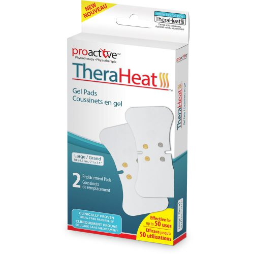 Grands coussinets en gel pour le TheraHeat™