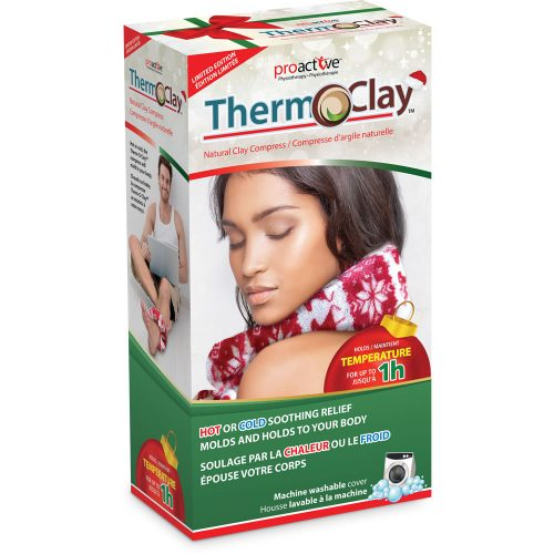 Therm-O-Clay™ Natural Clay Compress, Holiday Edition